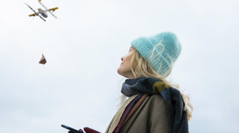 Доставка дроном   Фото: Wing