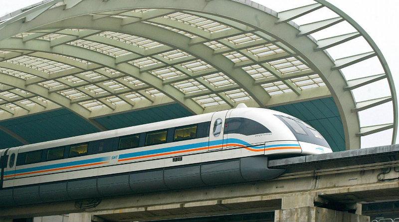 Шанхайский маглев | Фото: newsweek