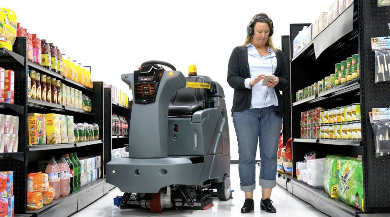Робот-мойщик | Фото: Walmart