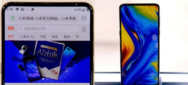 Xiaomi Mi Mix 3 5G | Фото: 3dnews.ru