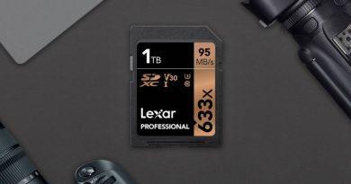 SD-карта Lexar на 1 ТБ   Фото: Lexar
