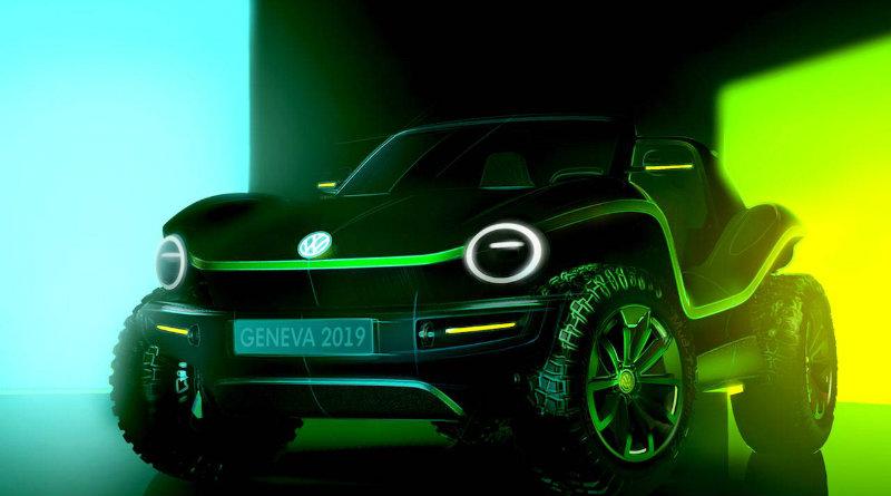 Электрический багги Volkswagen   Фото: Volkswagen