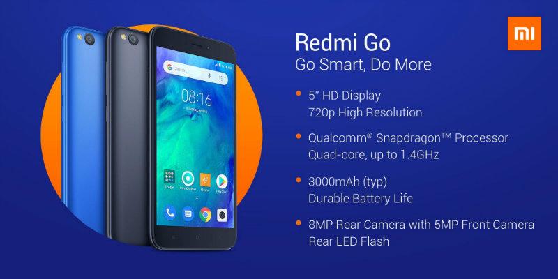 Xiaomi Redmi Go | Фото: Xiaomi