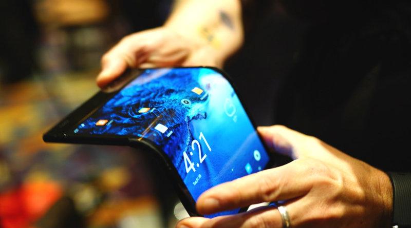 Гибкий смартфон FlexPai | Фото: frandroid
