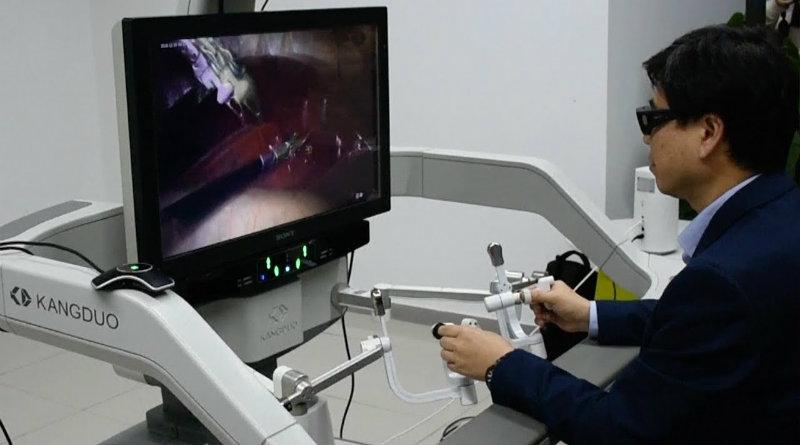 Операция через 5G | Фото: South China Morning Post