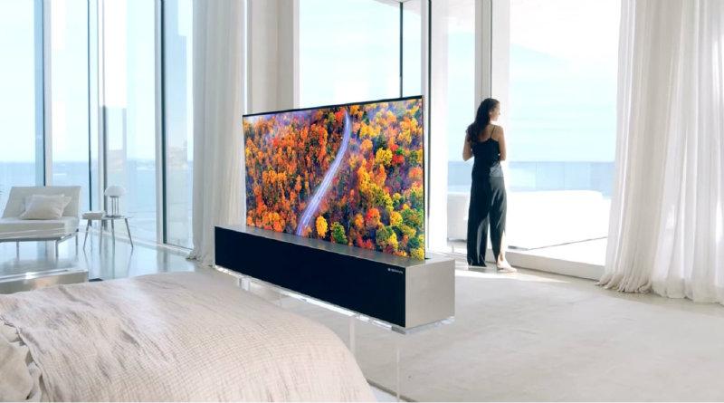 LG Signature OLED TV R | Фото: LG