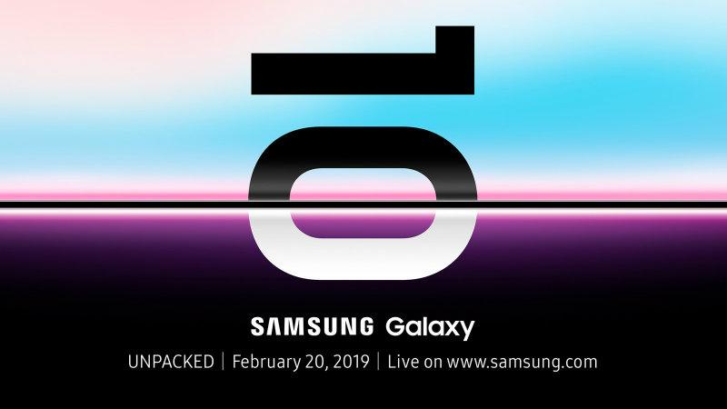 Galaxy S10 презентация
