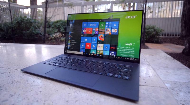Acer Swift 7 | Фото: chudo.tech