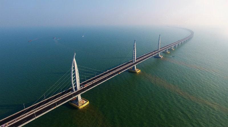 Самый длинный морской мост | Фото: РБК