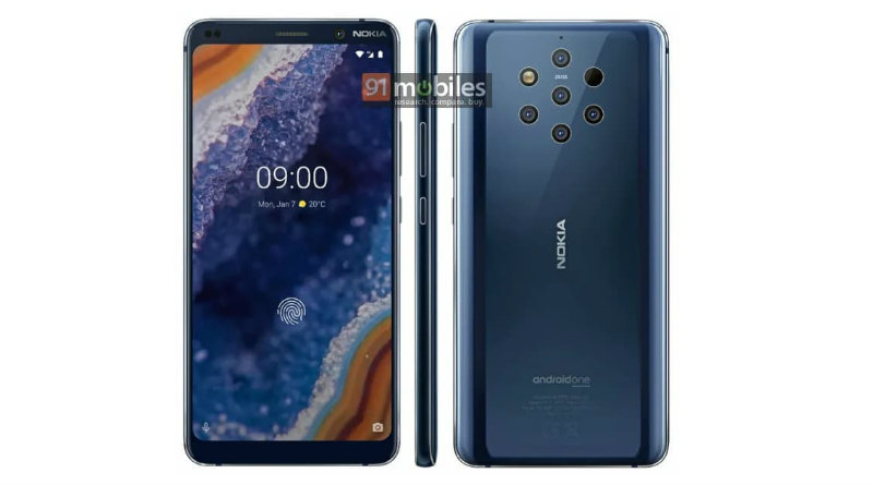 Nokia 9 PureView | Фото: 91mobiles