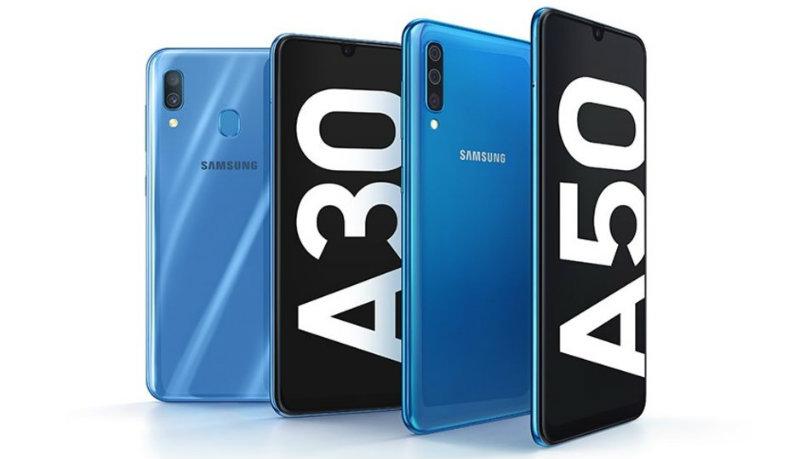 Galaxy A30 и A50 | Фото: Samsung