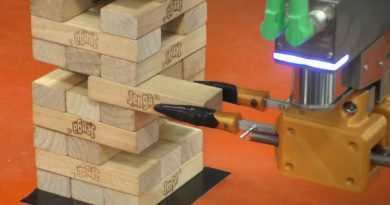Робот играет в Jenga | Фото: MIT