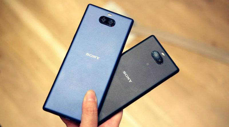 Sony Xperia 10 и 10 Plus   Фото: Engadget