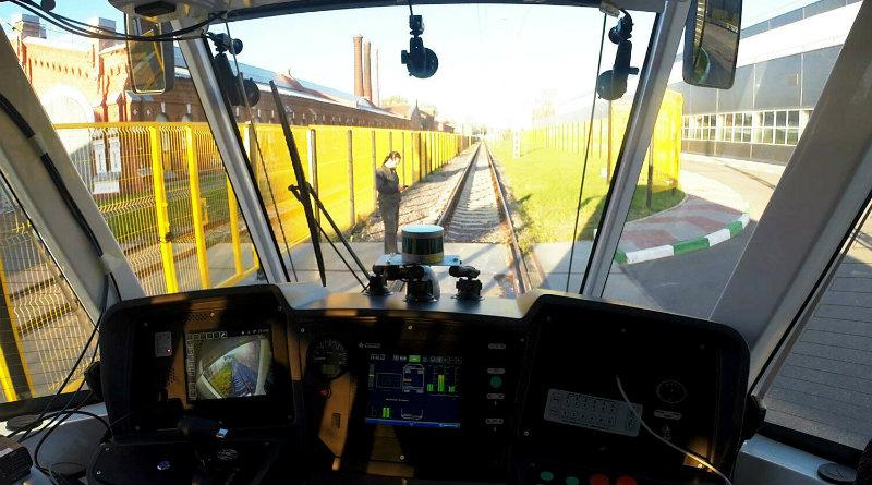 Беспилотный трамвай | Фото: vc.ru