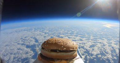 Бургер в космосе | Фото: sputniknews