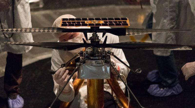 Марсианский вертолет | Фото: Вести