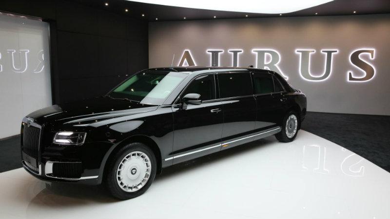 Aurus Senat Limousine | Фото: carscoops