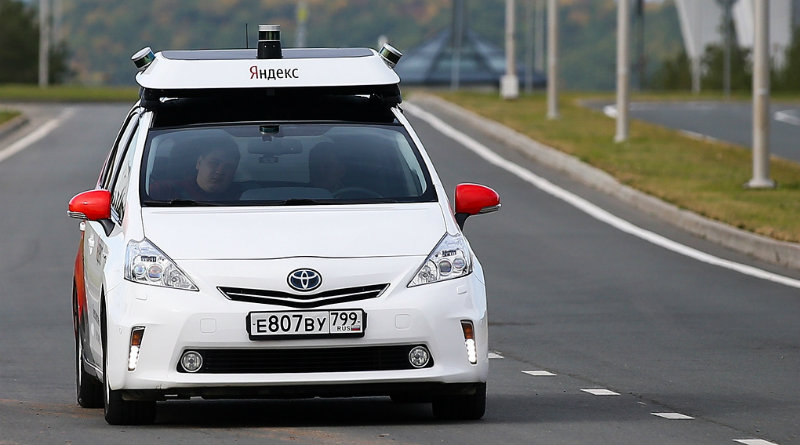 Робомобиль «Яндекса» | Фото: Habr