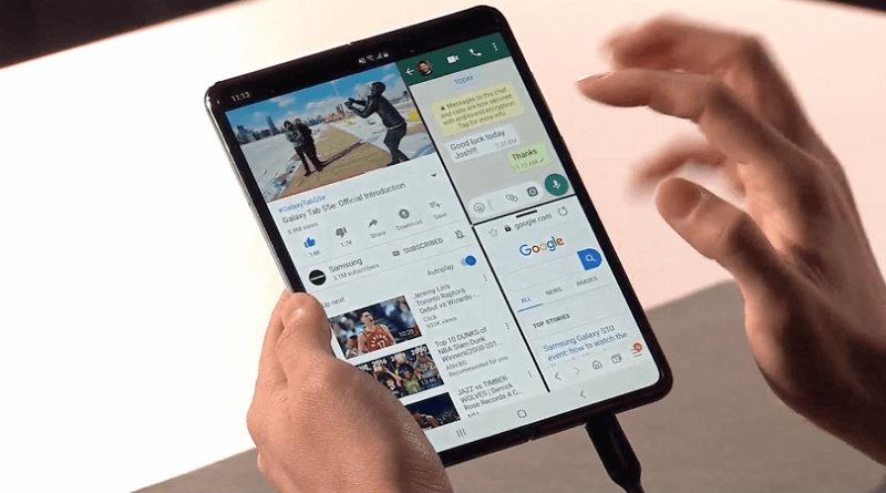 Samsung Galaxy Fold | Фото: fonpit.de