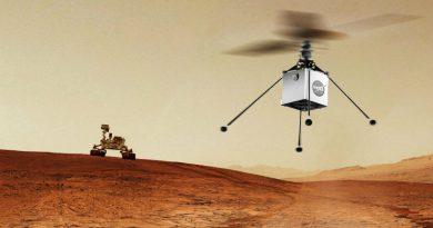 Марсианский вертолет | Фото: NASA