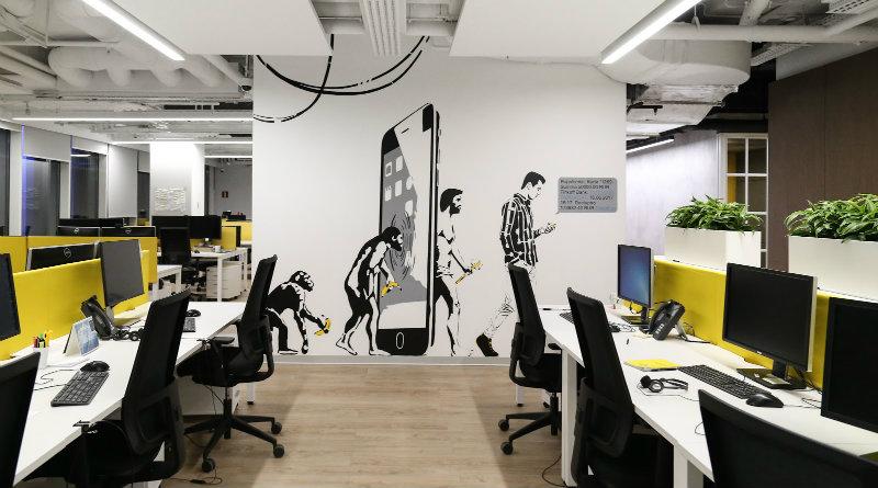 Офис «Тинькофф» | Фото: rb.ru