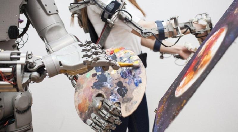 Робот «Федор» | Фото: Роскосмос