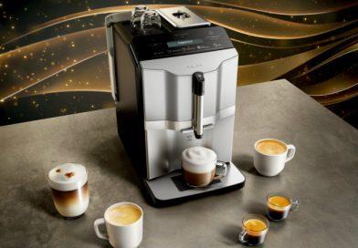 Siemens представил новую серию кофемашин