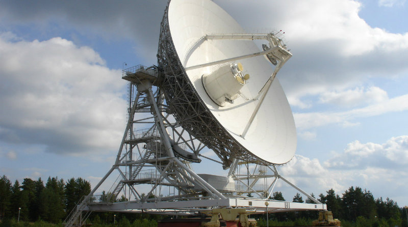 Радиотелескоп   Фото: astronomer