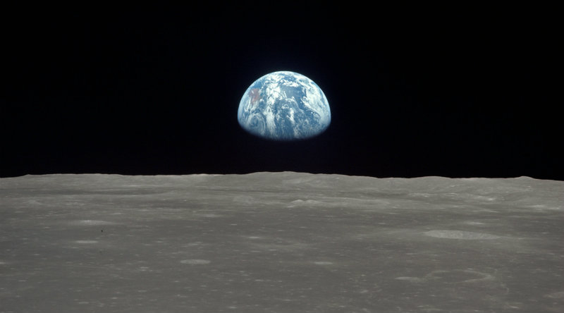 Луна | Фото: theatlantic