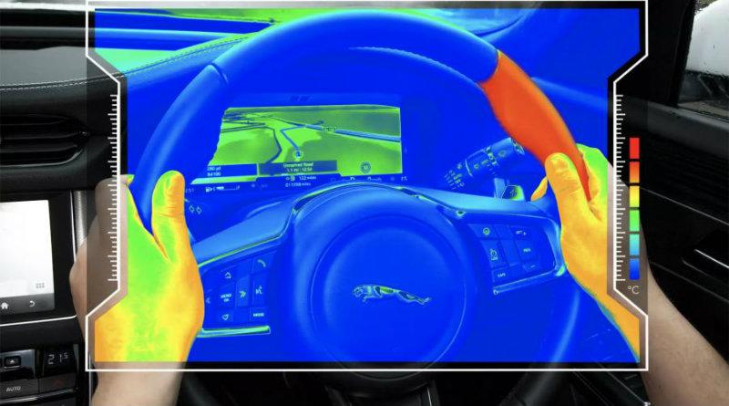 Нагревающийся руль | Фото: Jaguar Land Rover
