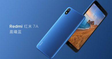Redmi 7A — новый бюджетный смартфон