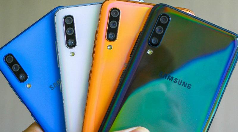 Samsung Galaxy A70 | Фото: gsmarena