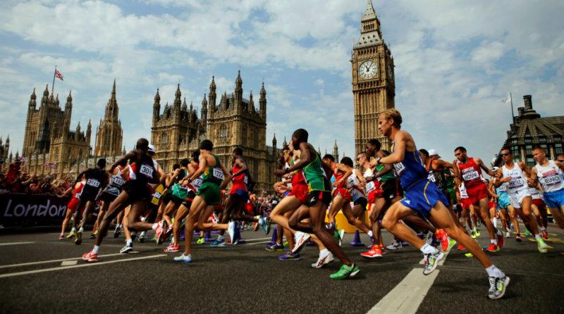 Лондонский марафон | Фото: letsportpeople