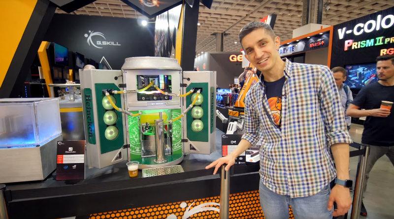 Пивной компьютер | Фото: chudo.tech
