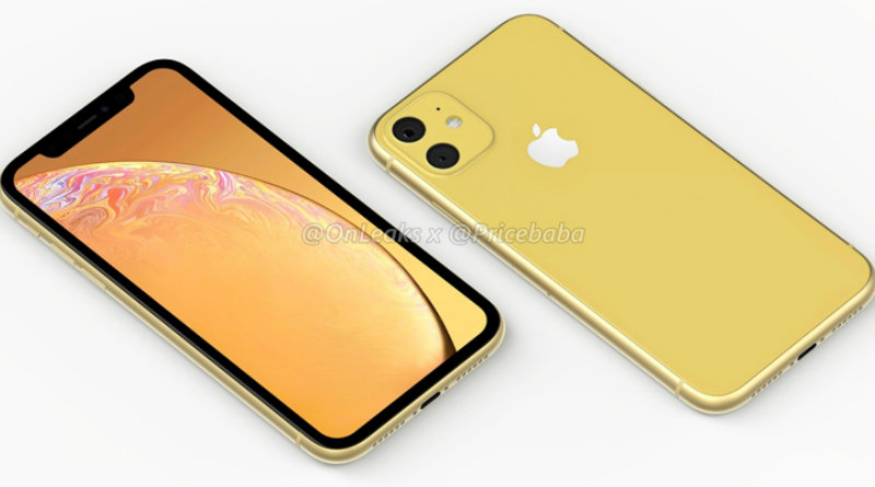 iPhone XR | Фото: OnLeaks