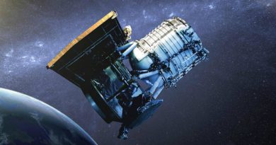 Атомные часы в космосе | Фото: Cosmos Magazine