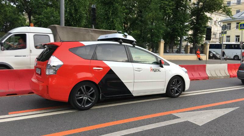 «Яндекс» автопилот | Фото: Twitter