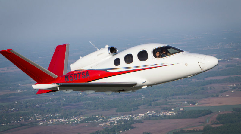 Aircraft Vision Jet | Фото: sweetaviation