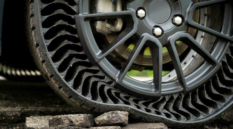 Безвоздушные шины | Фото: General Motors