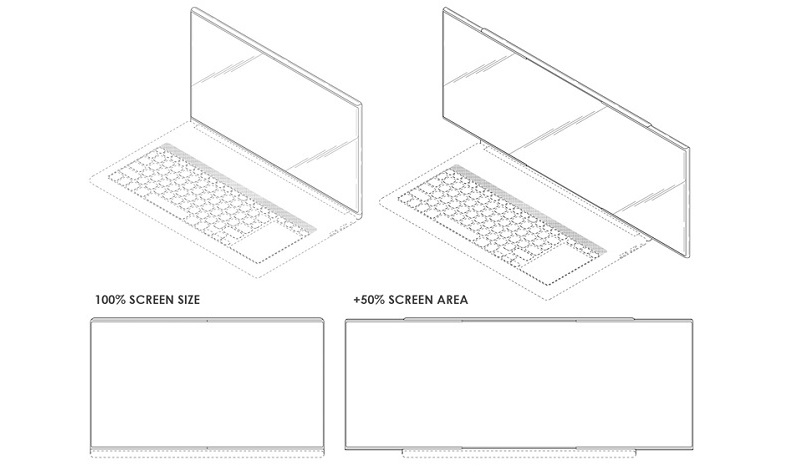 Ноутбук с растягивающимся экраном   Фото: letsgodigital