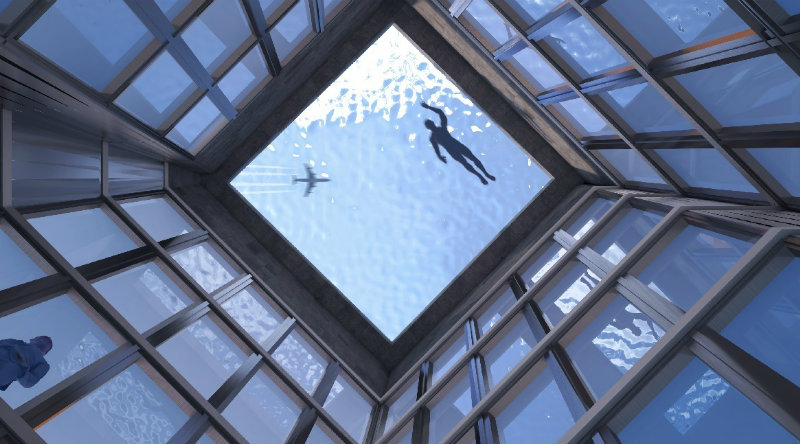 Бесконечный бассейн | Фото: https://london-post.co.uk