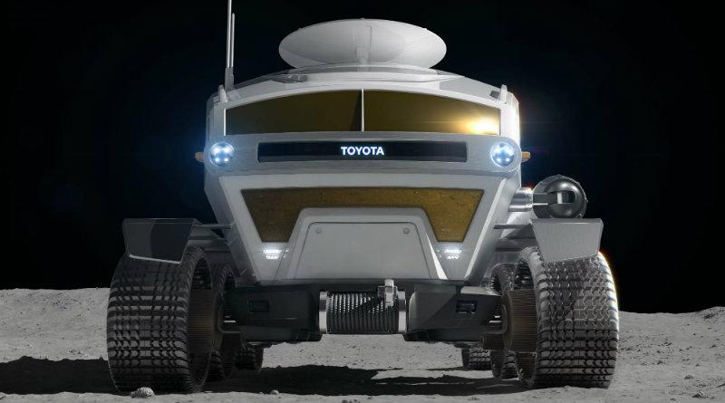Луноход Toyota | Фото: Genesis
