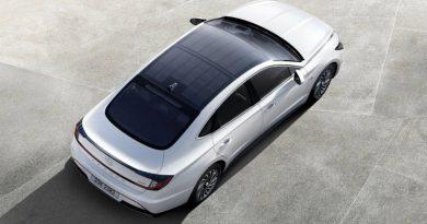 В Hyundai Sonata поставили солнечные панели