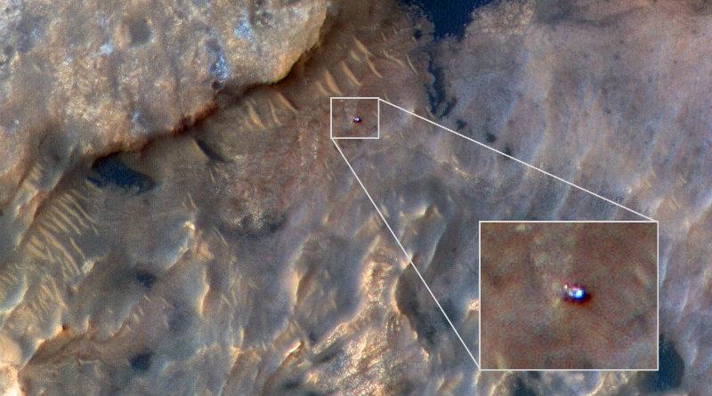 Curiosity на Марсе | Фото: NASA