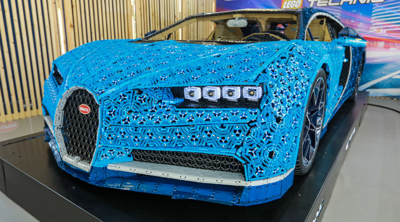 Bugatti Chiron из Lego | Фото: 4pda