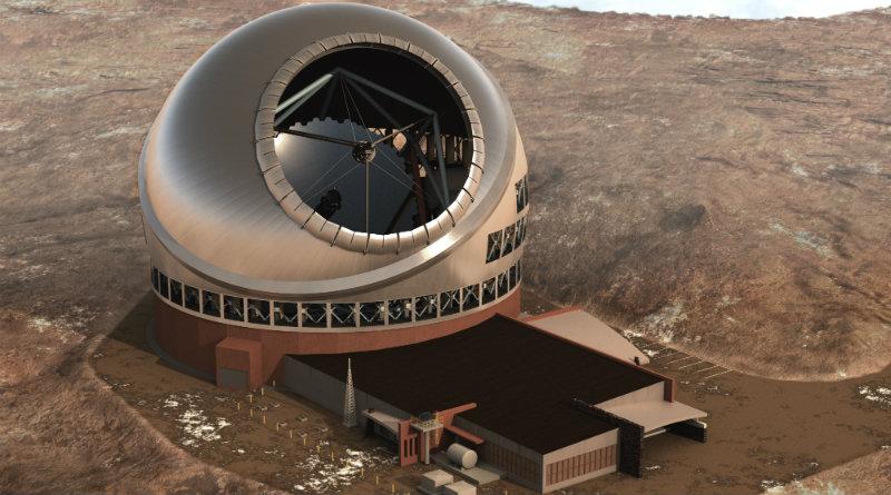 Тридцатиметровый телескоп | Фото: fotki.yandex.ru