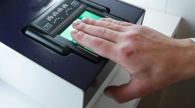 Снятие отпечатков пальцев | Фото: tadviser