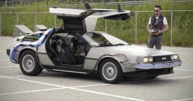 DeLorean на радиоуправлении | Фото: techeblog.com
