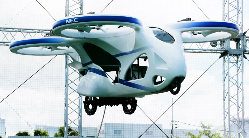 Летающий автомобиль NEC | Фото: ctvnews