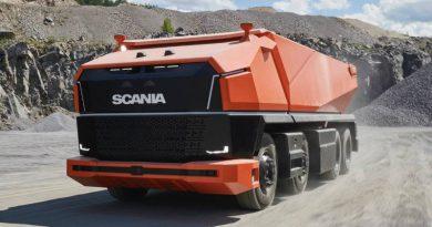 Беспилотная Scania